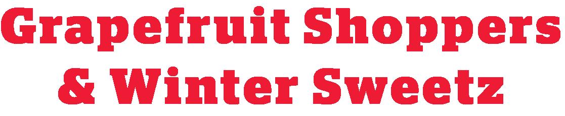 Grapefruit Shoppers & Winter Sweetz